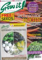 Grow It! magazine subscription