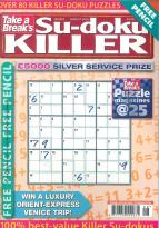 Take a Break Sudoku Killer magazine subscription