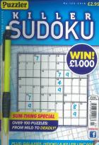 Killer Sudoku magazine subscription