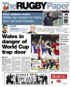 The Rugby Paper -Welsh magazine subscription