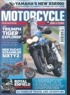 Motorcycle Sport and Leisure magazine subscription