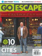 USA Today Travel Go Escape magazine subscription