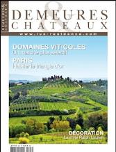 DEMEURES and CHATEAUX  magazine subscription