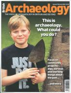 British Archaeology magazine subscription