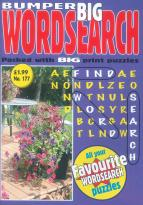 Bumper Big Word Search magazine subscription