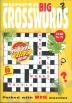 Bumper Big Crosswords magazine subscription