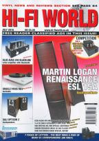 Hi-Fi World magazine subscription