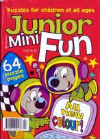 Junior Mini Fun magazine subscription