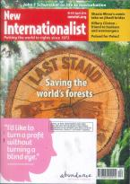 New Internationalist magazine subscription