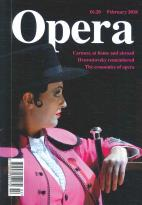 Opera magazine subscription
