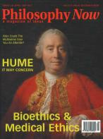 Philosophy Now magazine subscription