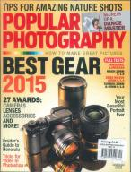 Popular Photography magazine subscription
