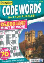 Puzzler Codewords magazine subscription