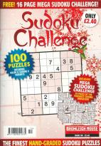 Sudoku Challenge Monthly magazine subscription
