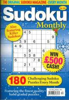 Sudoku Monthly magazine subscription