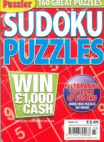 Sudoku Puzzles magazine subscription