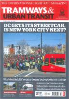 Tramways &amp; Urban Transit magazine subscription