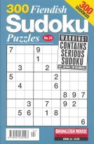 300 Fiendish Sudoku Puzzle magazine subscription