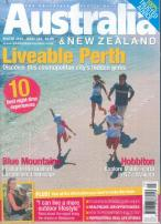 Australia and New Zealand magazine subscription