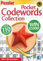 Pocket Codewords Collection magazine subscription