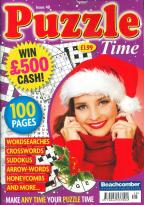 Puzzle Time magazine subscription