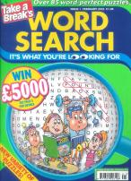 Take a Break Wordsearch magazine subscription
