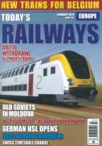 Todays Railways Europe magazine subscription