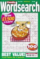 Family Wordsearch magazine subscription