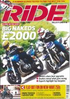 Ride magazine subscription