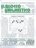 Il Blocco Enigmistico magazine subscription