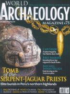 World Archaeology magazine subscription