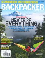 Backpacker Magazine magazine subscription