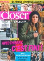 Closer (French) magazine subscription