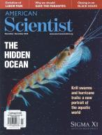 American Scientist magazine subscription