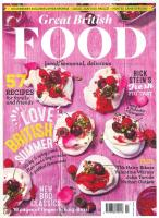 Great British Food magazine subscription