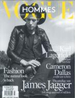 Vogue Hommes International Mode magazine subscription