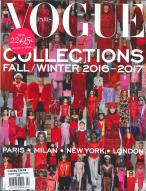 Vogue Paris Collections magazine subscription