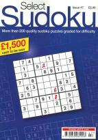 Select Sudoku magazine subscription