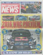Motorsport News magazine subscription