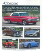 Collectible Automobile magazine subscription