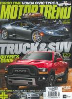 Motor Trend magazine subscription