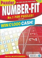 Puzzler Number-Fit magazine subscription