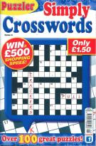 Puzzler Simply Crosswords magazine subscription