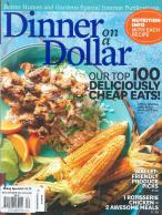 BHG Dinner on a Dollar magazine subscription