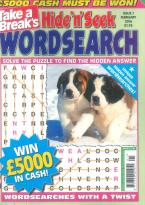 Take a Break's Mini Hide n Seek Wordsearch magazine subscription