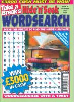Take a Break's Hide n Seek Wordsearch magazine subscription