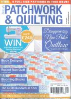 British Patchwork and Quilting magazine subscription