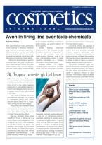 Cosmetics International magazine subscription