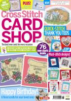 Cross Stitch Card Shop magazine subscription
