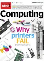 Which? Computing magazine subscription